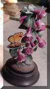 Lefton China Butterfly and Flowers