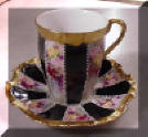 Coiffe Limoges Chocolate Cup